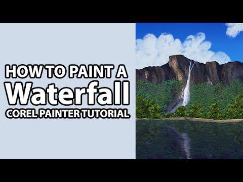 digital painting landscape tutorial photoshop