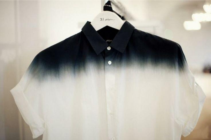 dip dye shirt tutorial