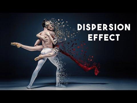 dispersion effect photoshop tutorial