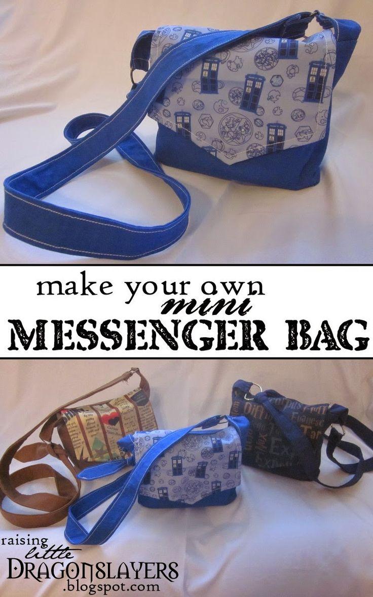 diy messenger bag tutorial