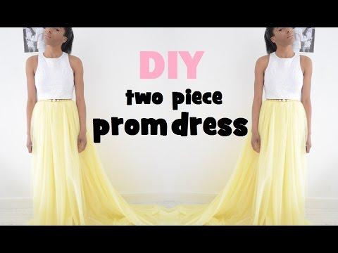 diy prom dress tutorial