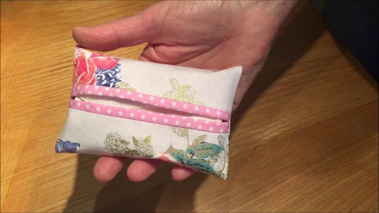 diy tissue holder tutorial
