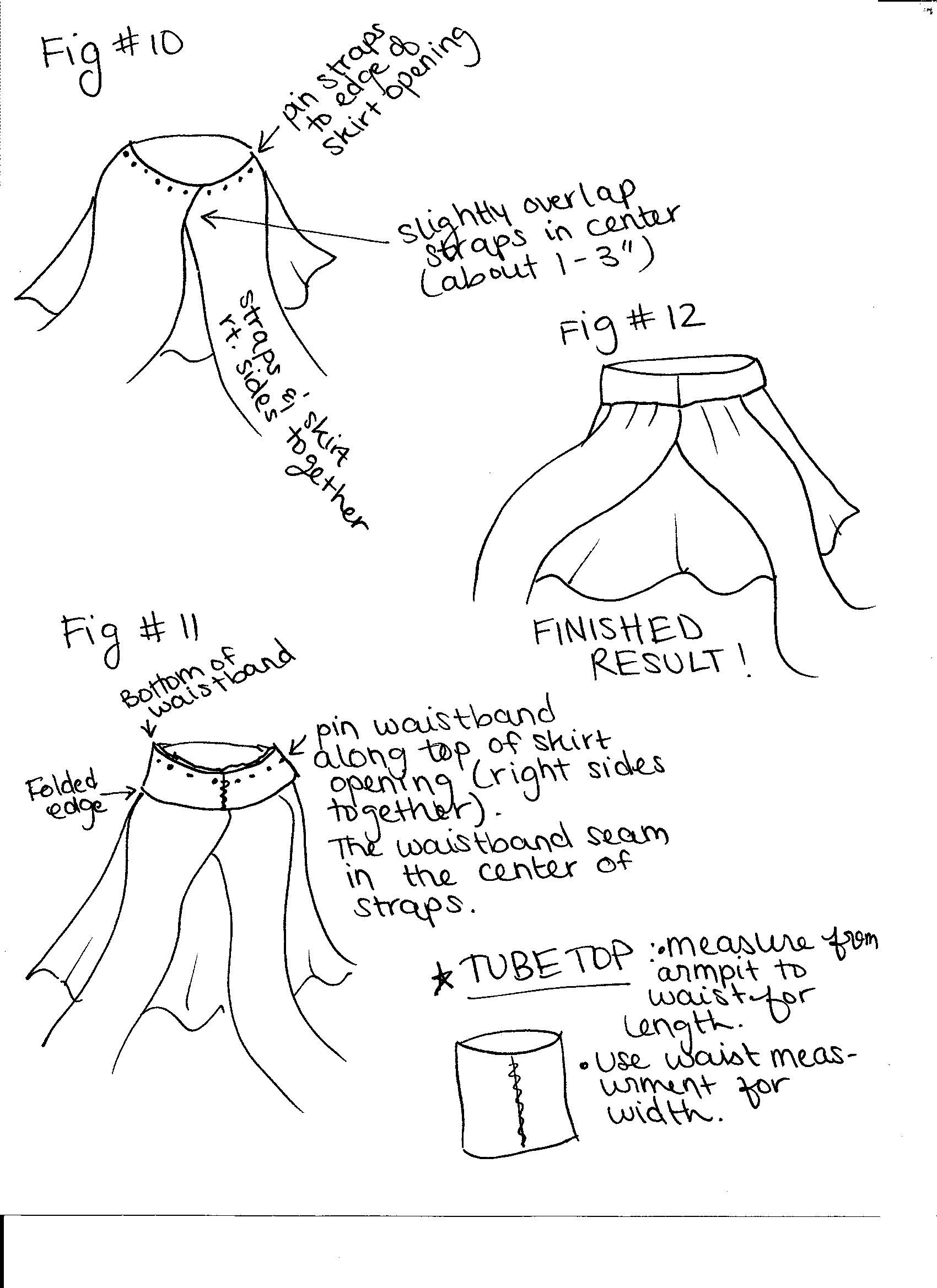 diy tube top tutorial