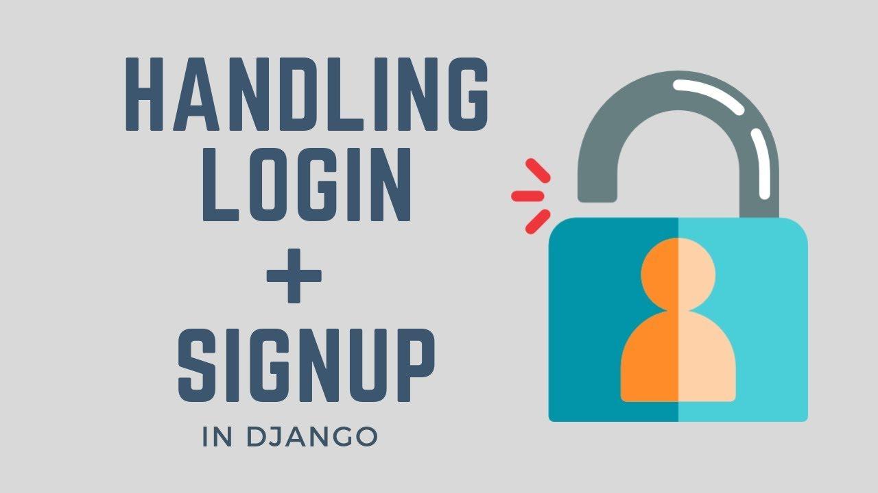 django user authentication tutorial