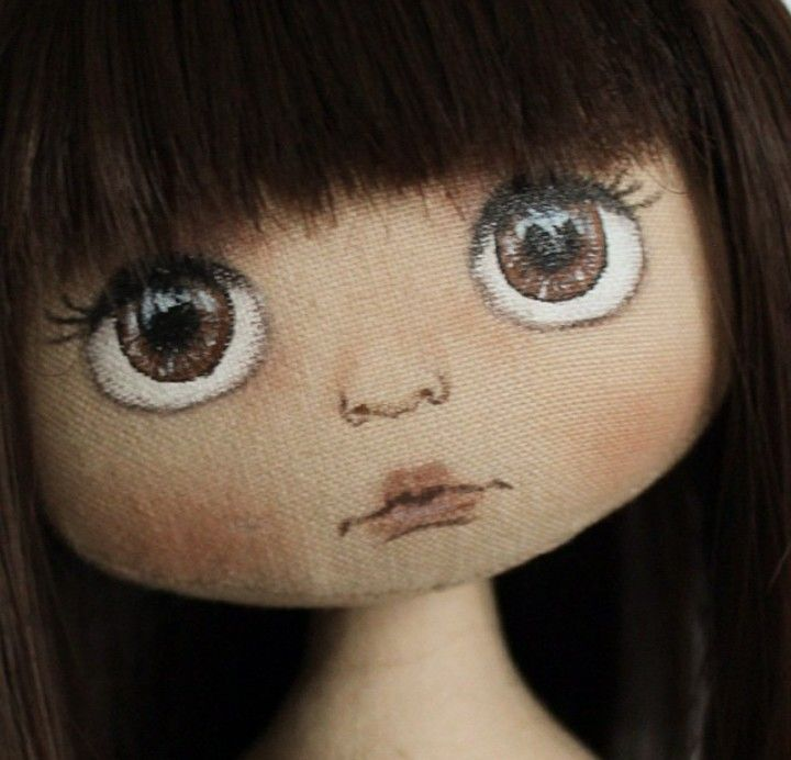 doll makeup tutorial big eyes