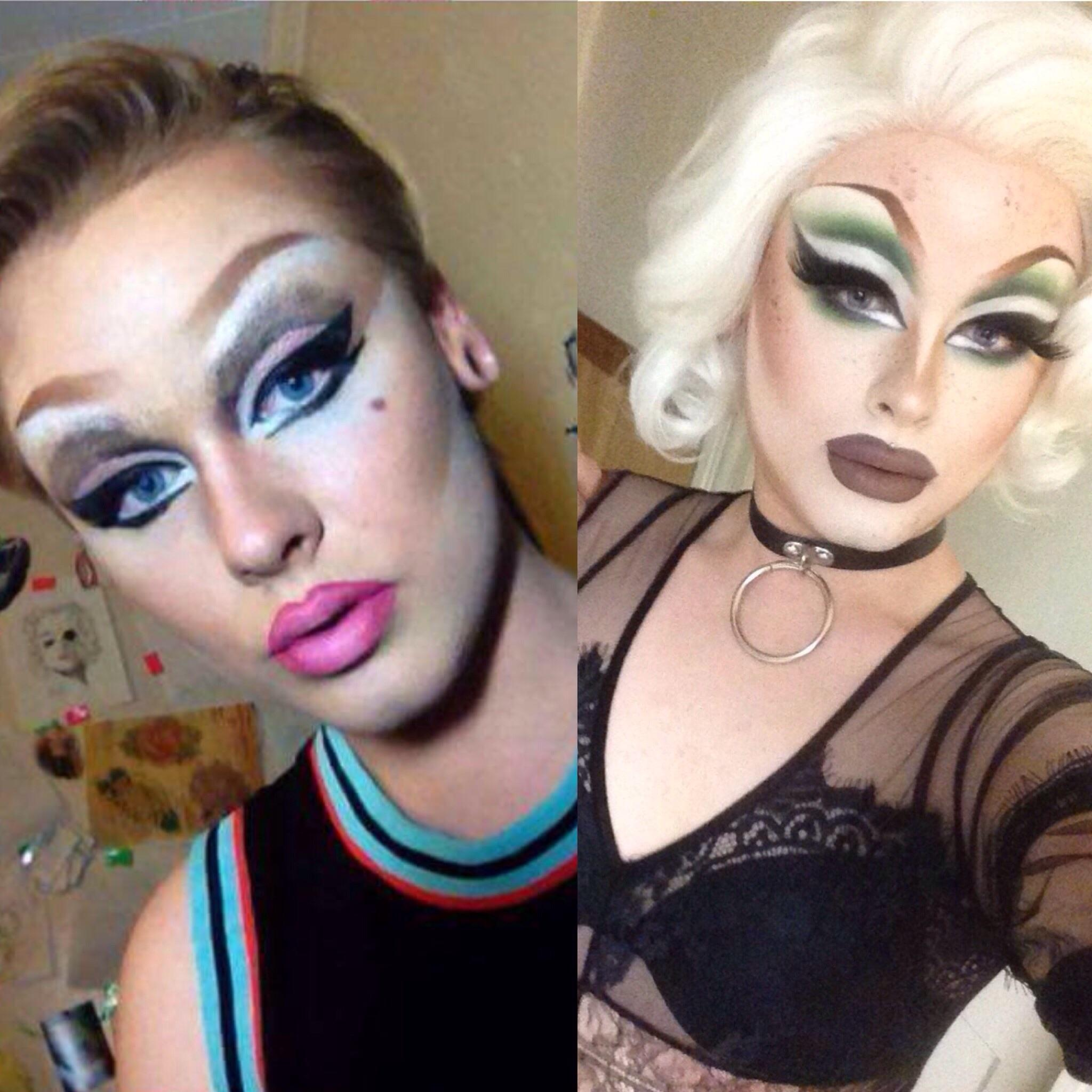 drag queen makeup tutorial for beginners