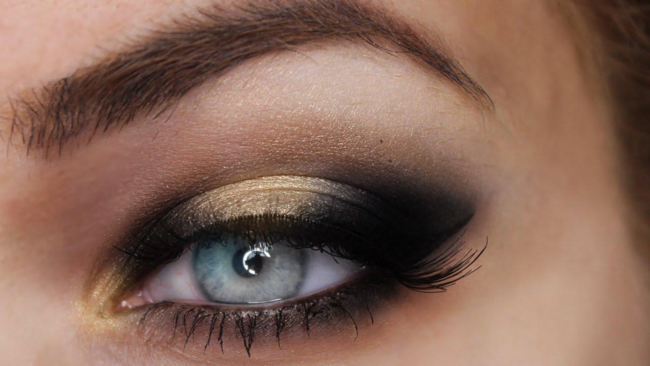 dramatic black smokey eye tutorial