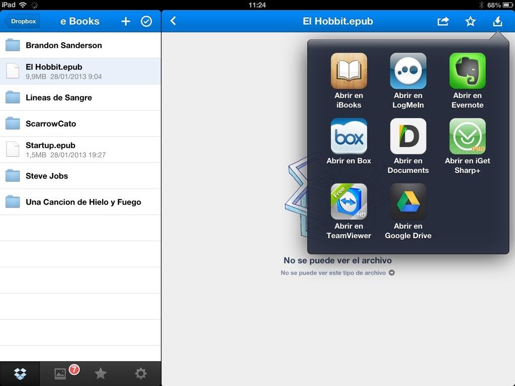dropbox app for ipad tutorial