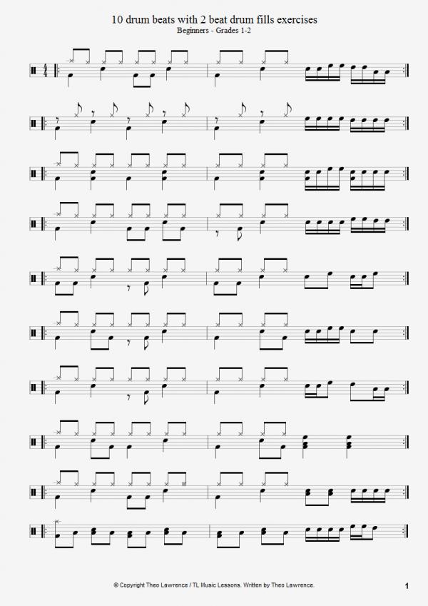 drums tutorial for beginners pdf