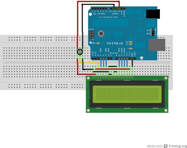 arduino 16x2 lcd tutorial