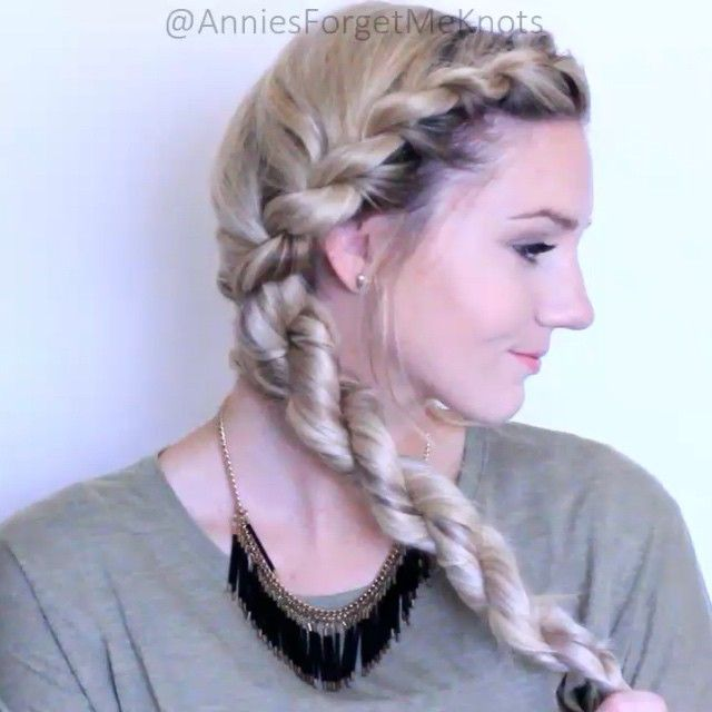 french rope braid tutorial