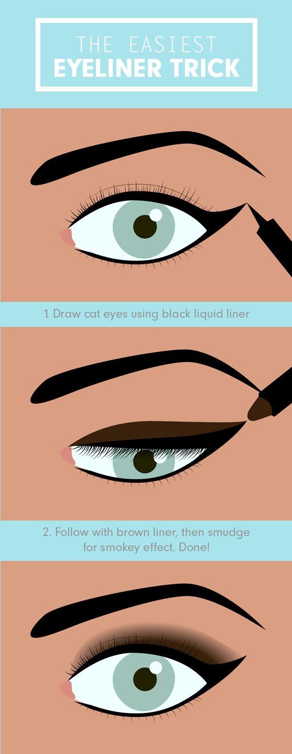 easy cat eye tutorial