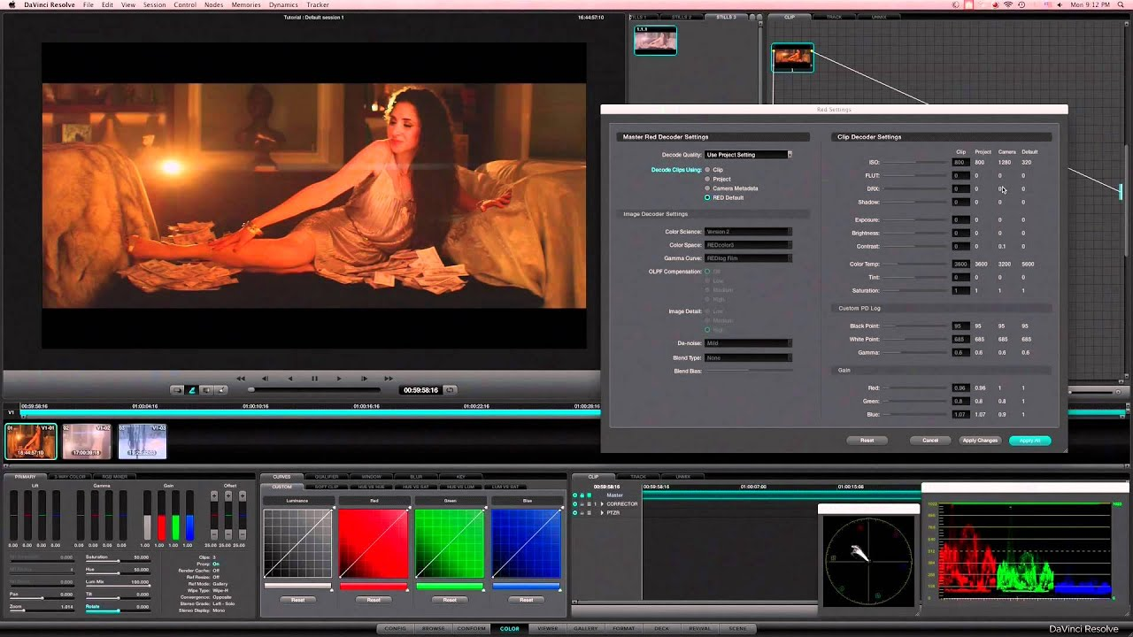 davinci resolve tutorial download