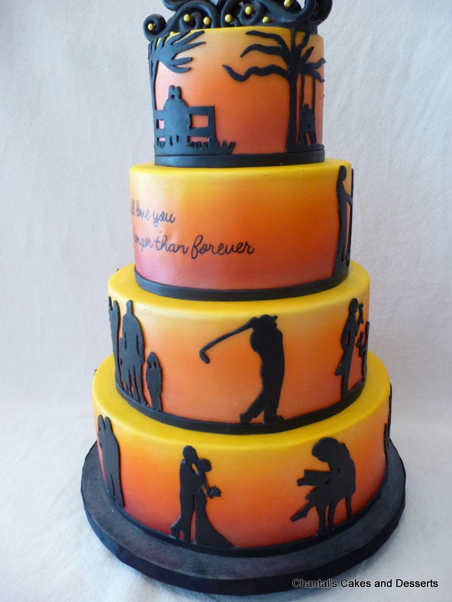 silhouette cameo cake topper tutorial
