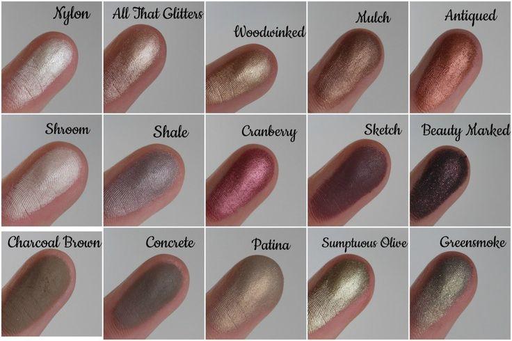 mac sketch eyeshadow tutorial