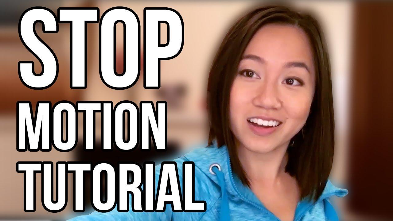 stop motion animation tutorial