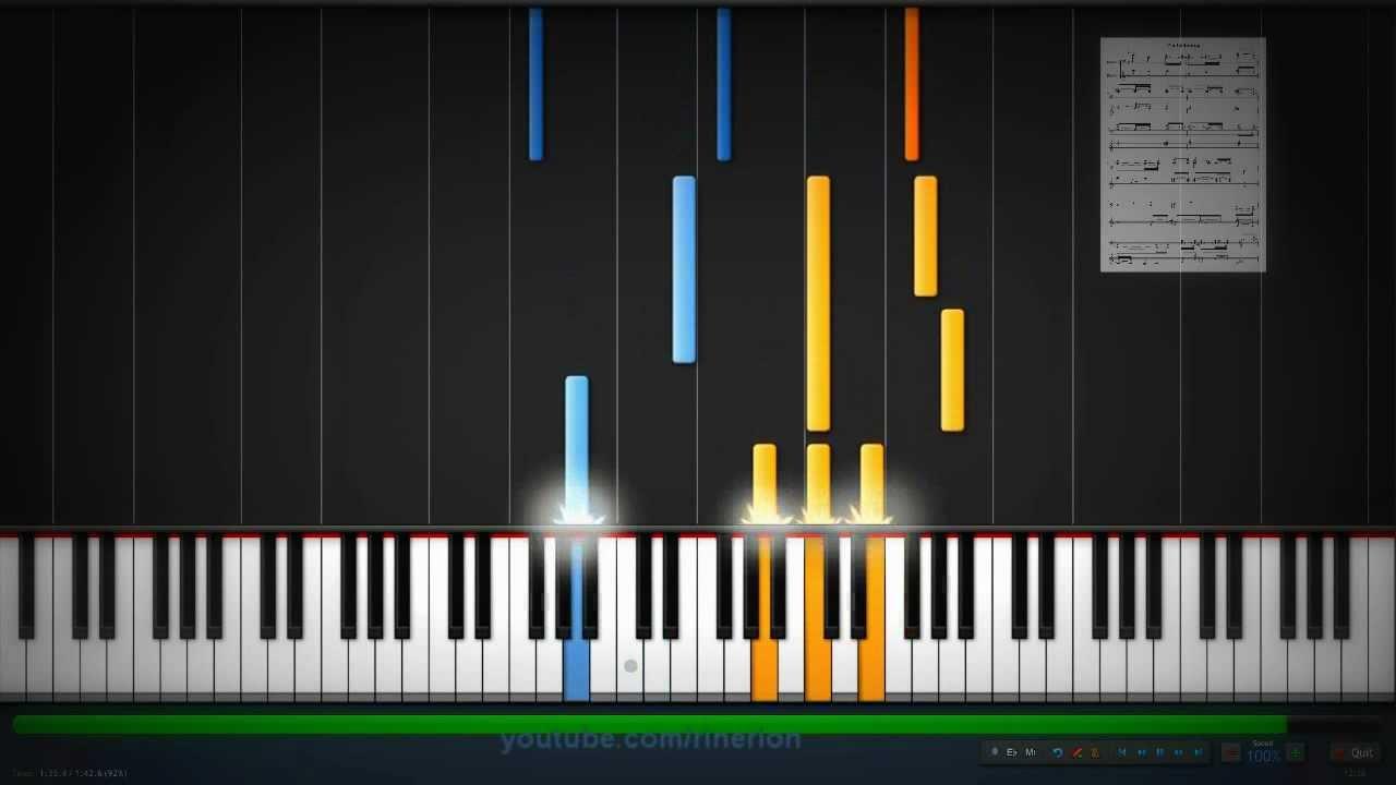 who am i piano tutorial