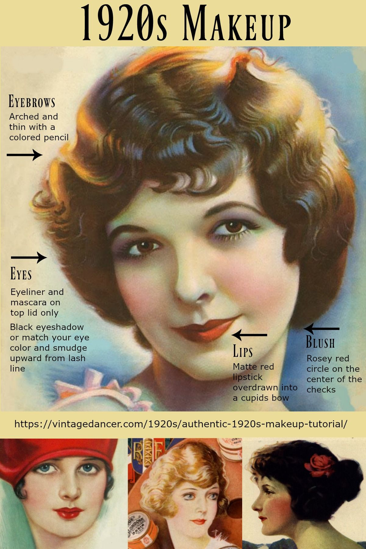 1920s long hairstyles tutorial