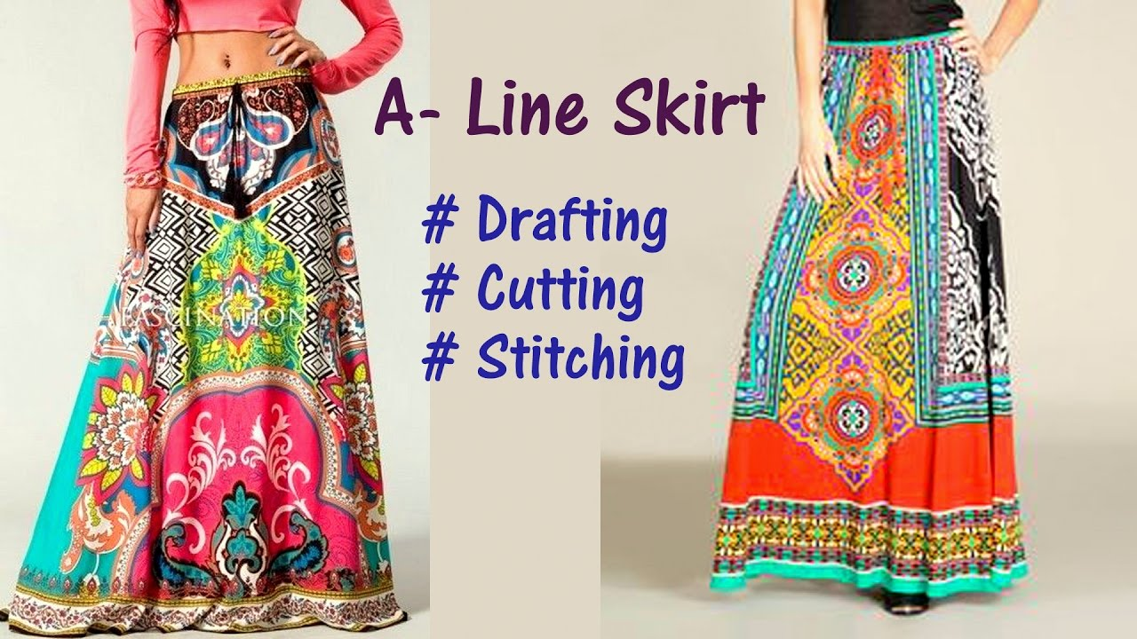 floor length full circle skirt tutorial