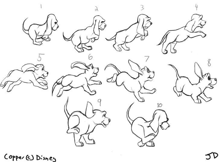 dog walk cycle tutorial