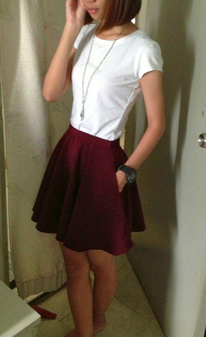 easy circle skirt tutorial