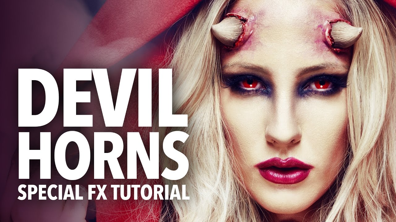 easy devil makeup tutorial
