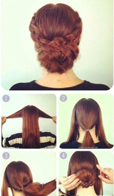 easy hair updo tutorial
