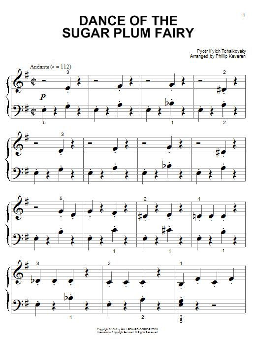 dance of the sugar plum fairy piano tutorial