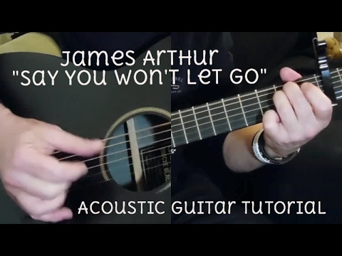 say you won t let go guitar tutorial