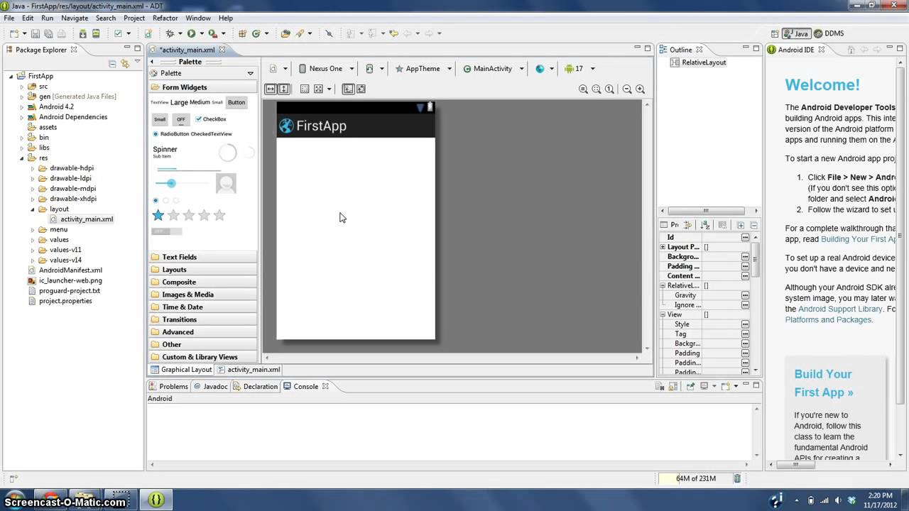 eclipse android app development tutorial