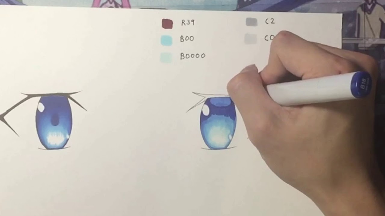 youtube copic markers tutorial