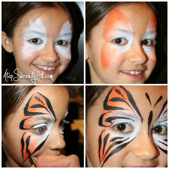 basic face painting tutorial