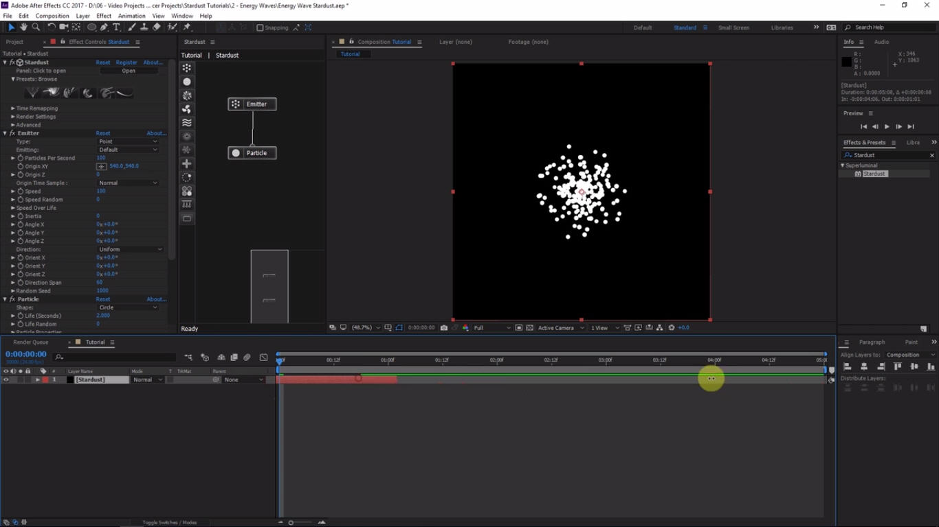 electricity after effects tutorial