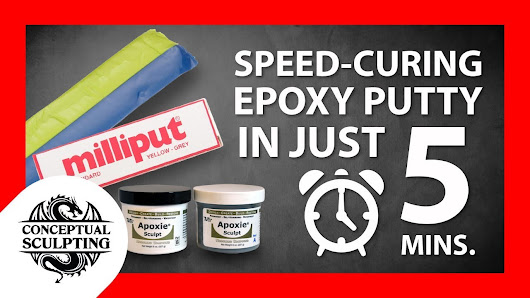 epoxy putty sculpting tutorial