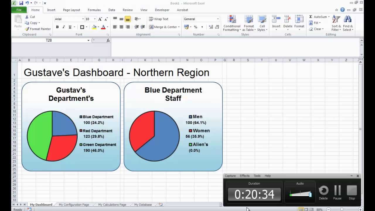 excel dashboard tutorial youtube