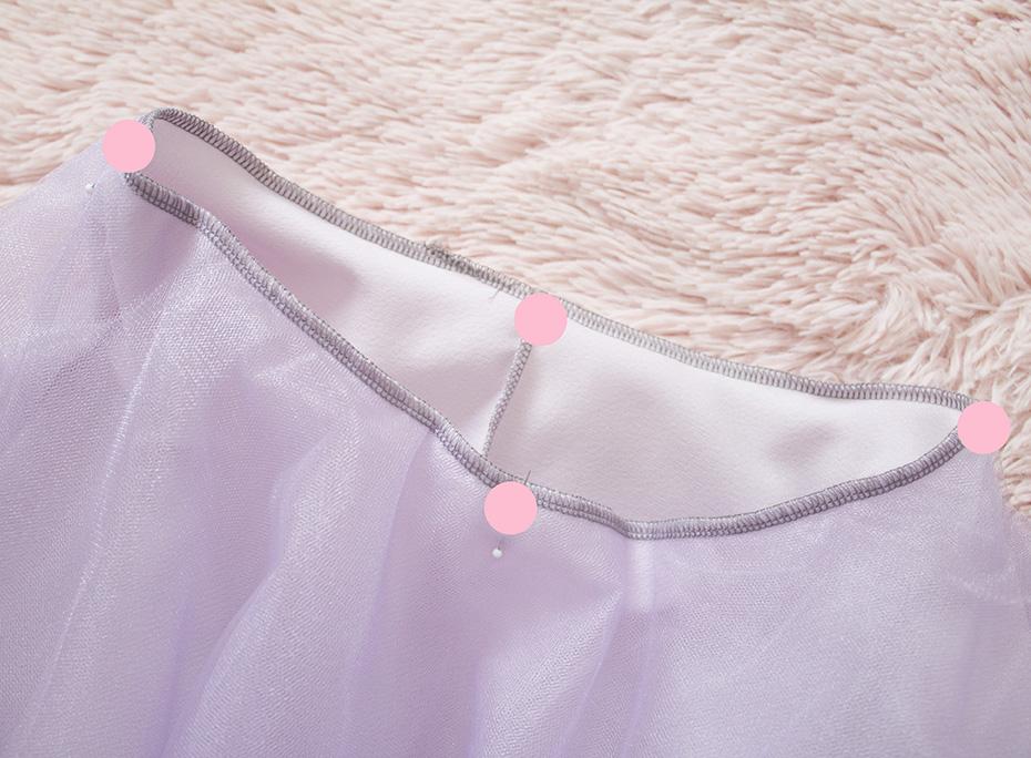 exposed elastic waist skirt tutorial