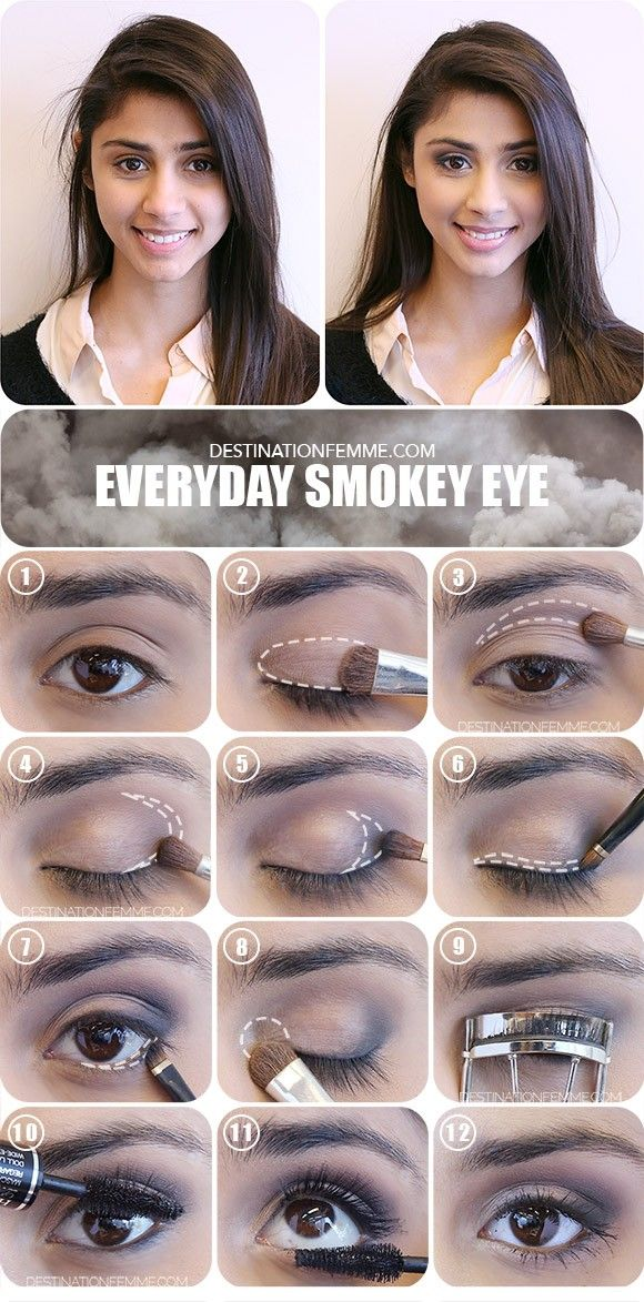 eye makeup for work tutorial