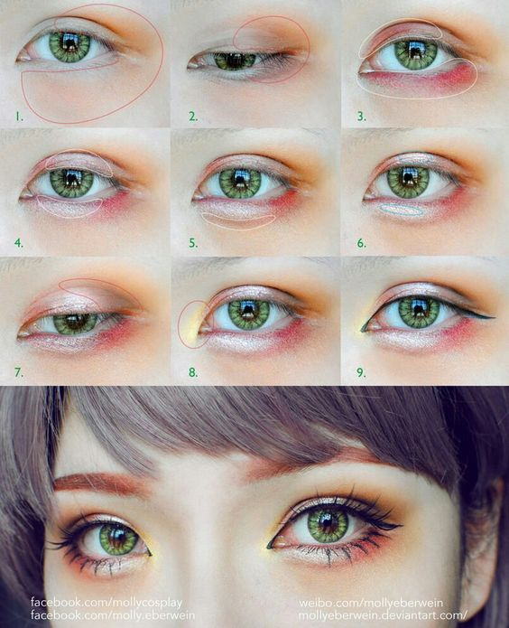 eye makeup tutorial for small eyelids