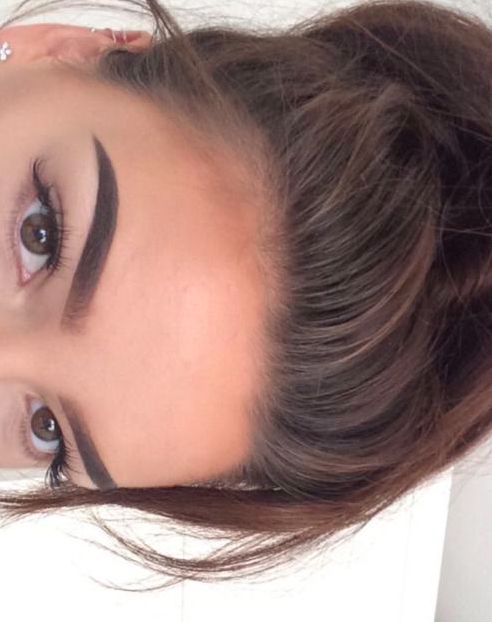 eyebrow tutorial for thick eyebrows