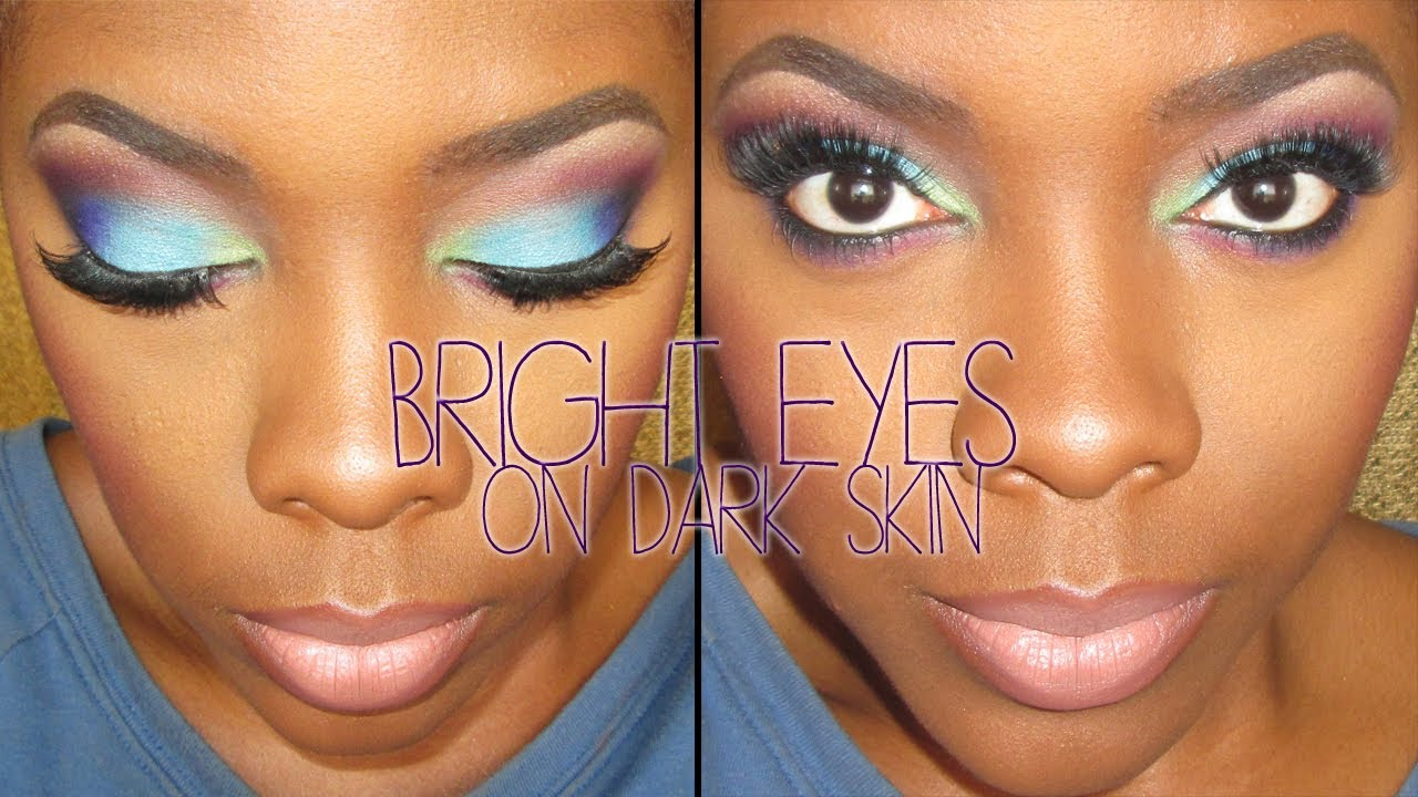 eyeshadow tutorial for beginners dark skin