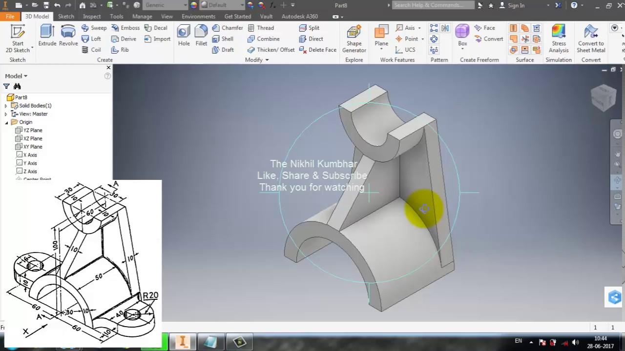 autodesk inventor professional tutorial