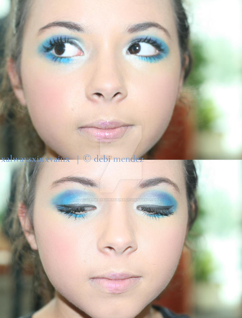alice in wonderland white rabbit makeup tutorial