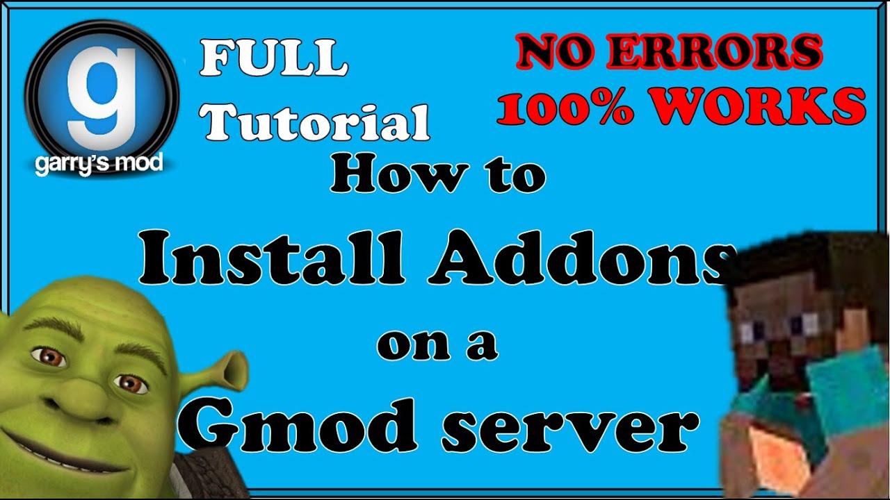 gmod dedicated server tutorial