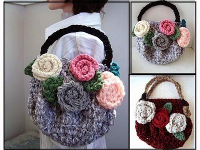 crochet purse tutorial video