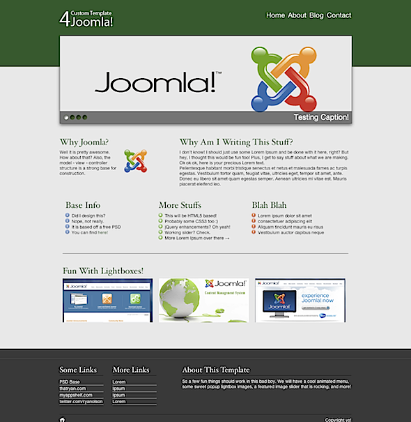 joomla template design tutorial