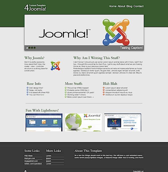 joomla template design tutorial