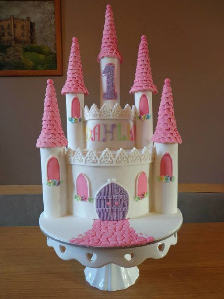 princess castle cake tutorial