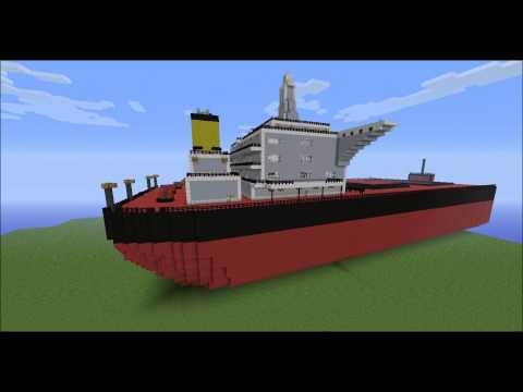 minecraft ship building tutorial