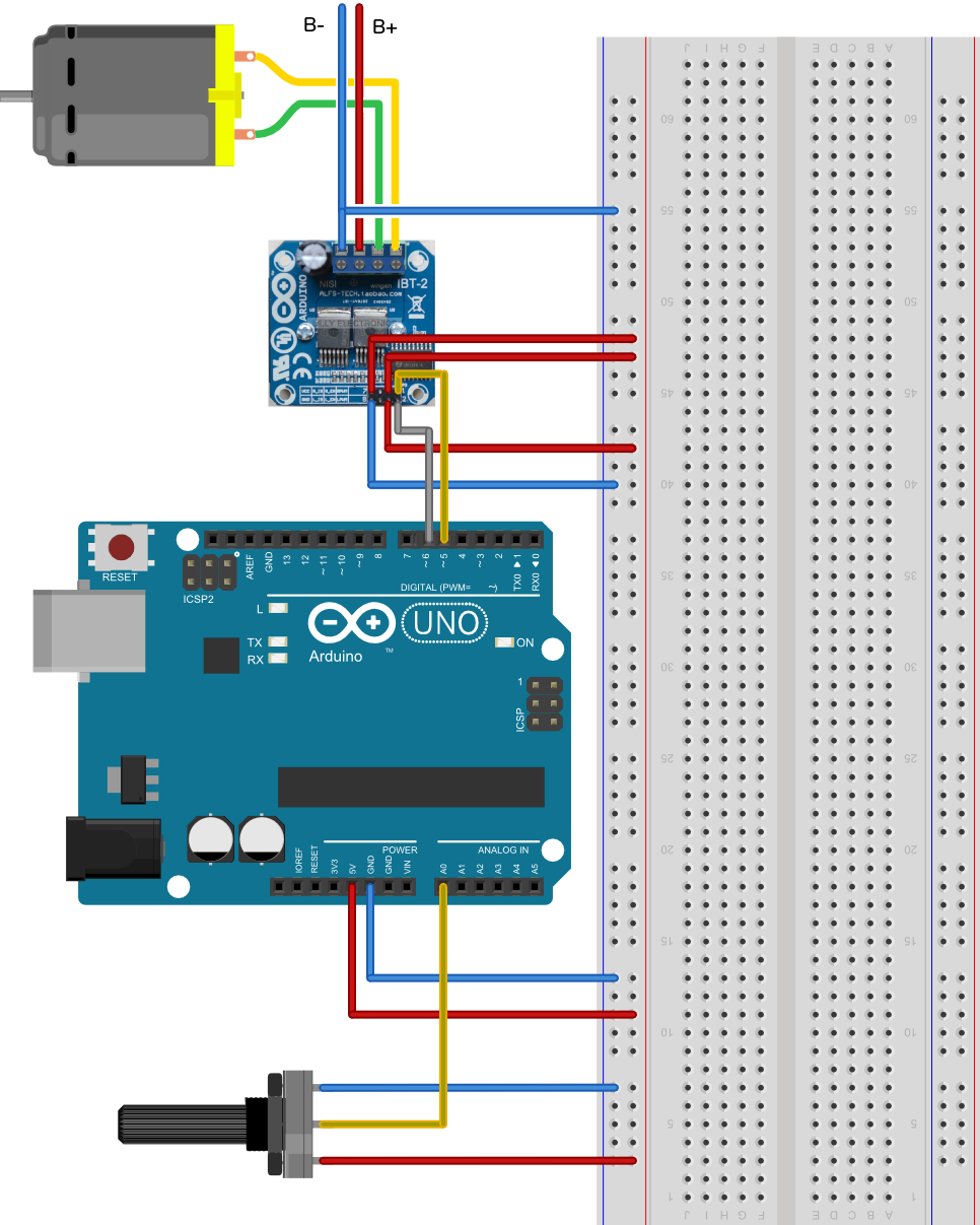 arduino h bridge tutorial