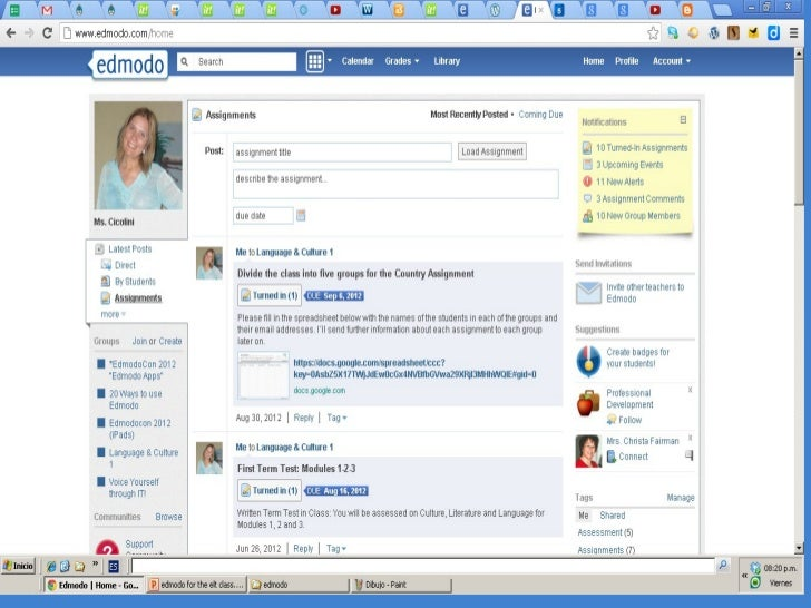 edmodo tutorial for students